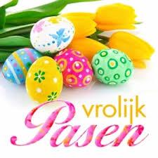 Goede Vrijdag en Pasen vrij