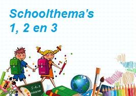 """Schoolthema's: afsluiting schoolthema 1 """"Mijn eigen huis"""""""