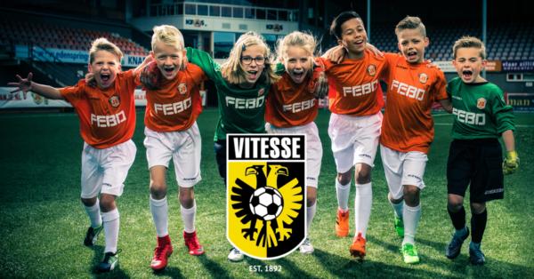 Jonger Oranje Talentendag met scouts van Vitesse