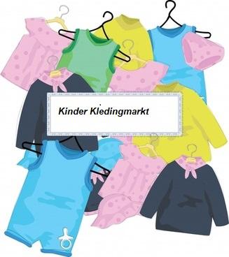Kids kledingmarkt voor gezinnen die het niet breed hebben