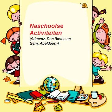 Overzicht van naschoolse activiteiten in de Maten